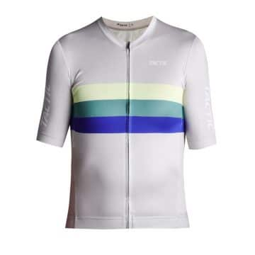 cyklodres cycling jersey hard day HQ grey front