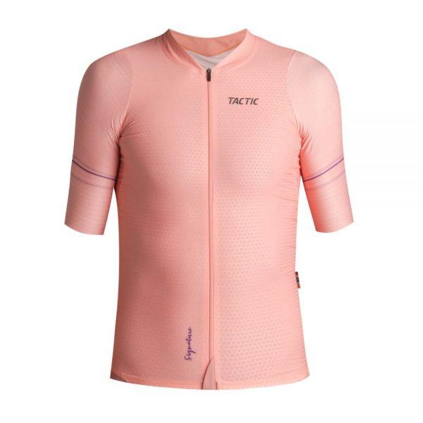 krátky cyklistický dres ružový pilsen