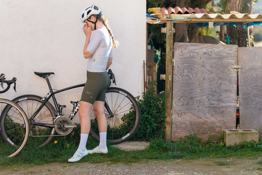 dámske cyklistické nohavice