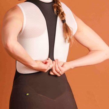 dámske cyklistické nohavice zapínanie