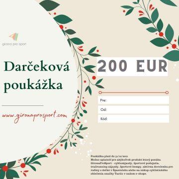 darcekova poukazka 200eur