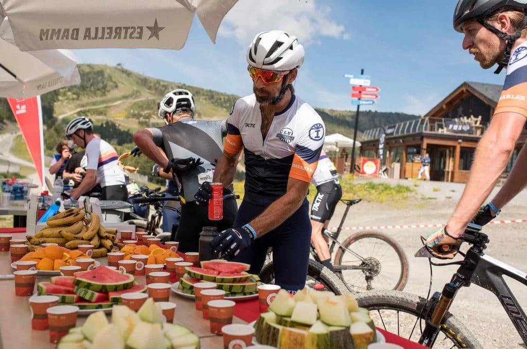 športová výživa počas pretekov