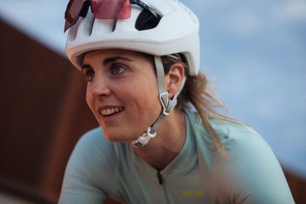 dámsky cyklodres reflexný woman cycling jersey Tactic