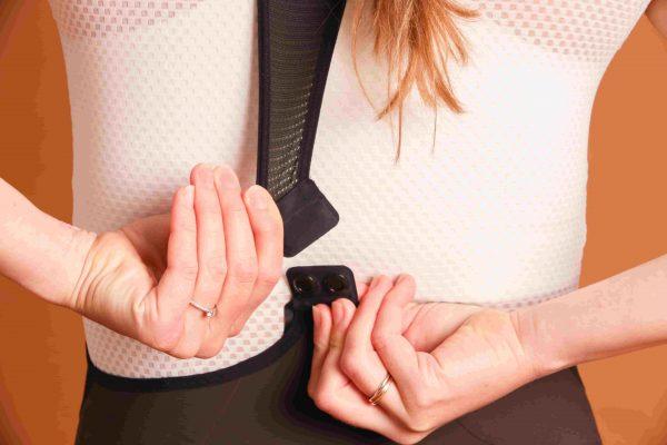 dámske cyklistické nohavice zapínanie choco